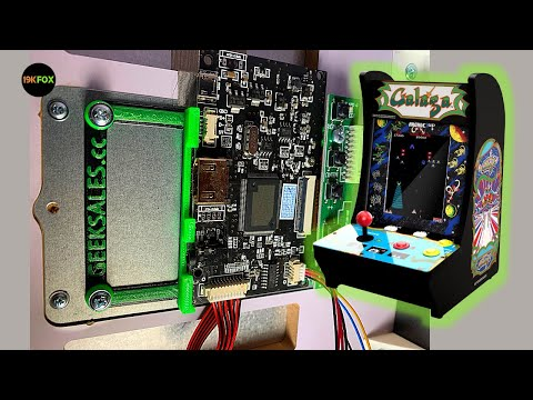 Add HDMI to your Arcade1up Countercade V2 !! from 19kfox
