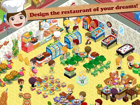 Restaurant Story: Design your own dream restaurant - Android Games for Childrens