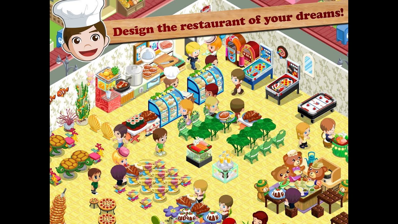 Restaurant Story Design Your Own Dream Restaurant Android Games For Childrens