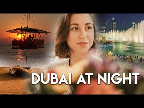 Top 5 places to visit in Dubai at night.