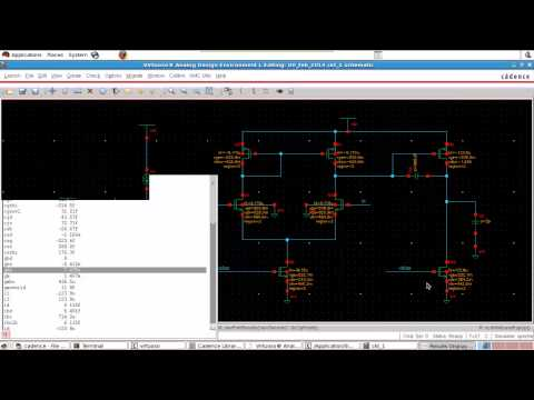 Design of two stage operational amplifier (opamp) part 8 (simulation in cadence)