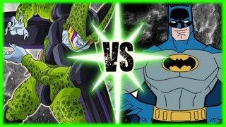 Perfect Cell VS Batman
