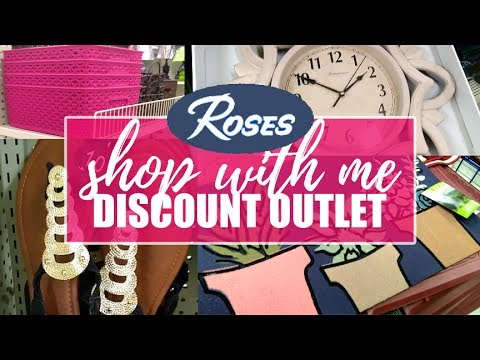 SHOP WITH ME | ROSES DISCOUNT STORE | HOMEGOODS, DECOR & ORGANIZATION