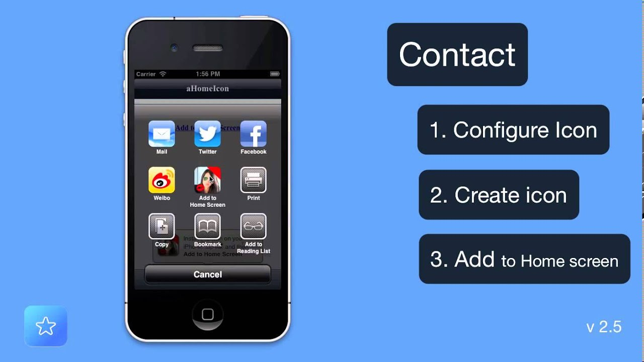 How To Create A Contact Icon On Your Iphone Or Ipad