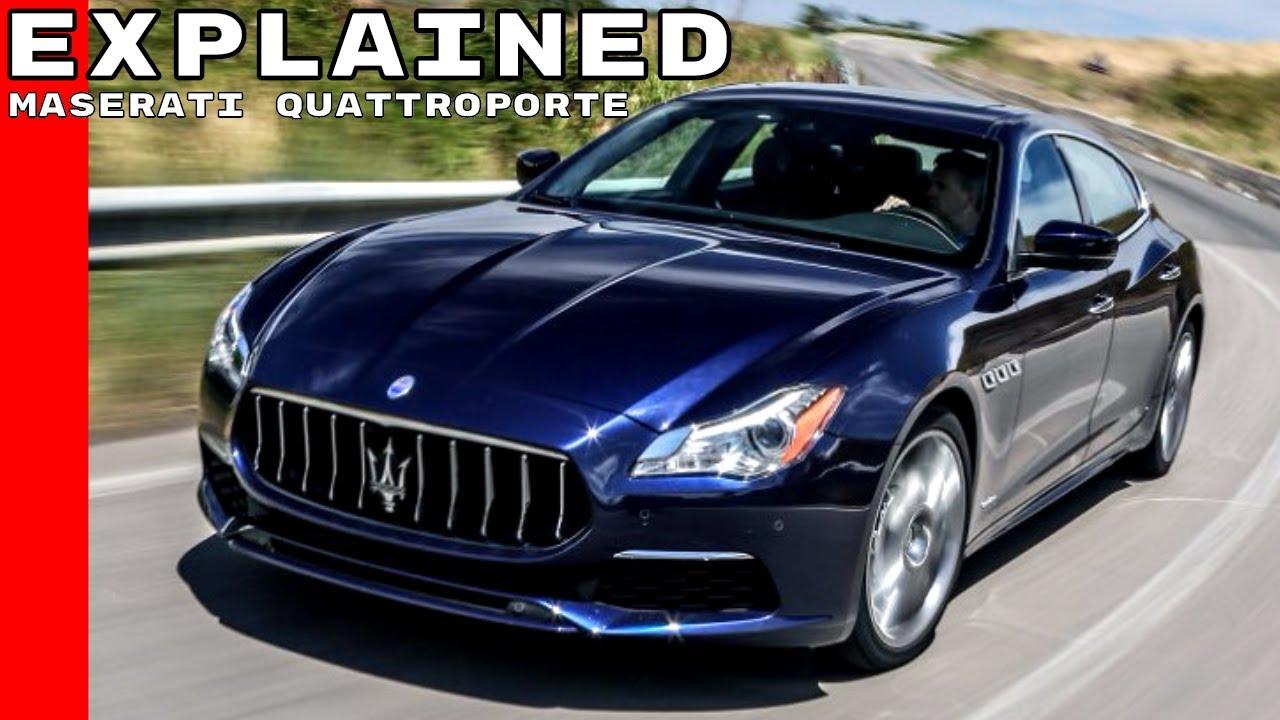 2017 Maserati Quattroporte Explained