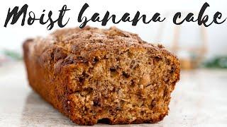 Super Moist Banana Cake/bread
