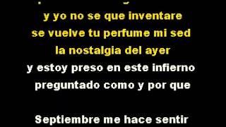 """Conejito Alejandro """"Septiembre"""" DEMO PISTA KARAOKE INSTRUMENTAL"""