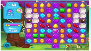 Candy Crush Soda Saga Level 11 - No Boosters (with commentary)