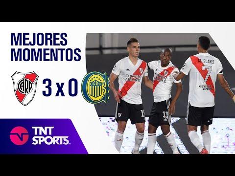 Resumen de River Plate vs Rosario Central (3-0) | Zona A - F 2 - Copa LFP 2021