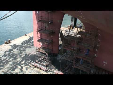 tanker in drydock youtube