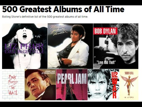 Rolling Stone Magazine: 500 Greatest Albums Of All Time (REVIEW)