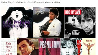 Скачать Rolling Stone Magazine 500 Greatest Albums Of All Time REVIEW
