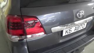Toyota Land Cruiser 200  - BI LED KOITO + новые задние фонари