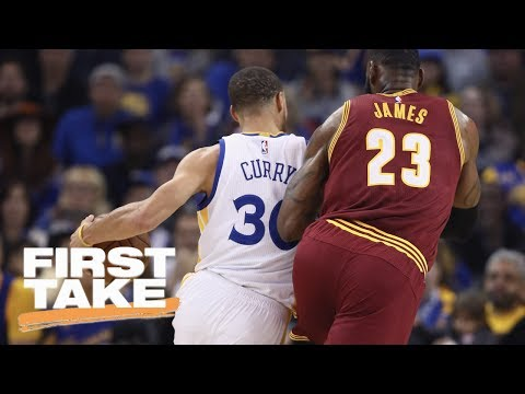 LeBron James or Steph Curry: Who Has More To Prove In NBA Finals? | First Take | May 26, 2017