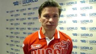 Russian Hockey Team Coach Viacheslav Bykov from Sochi World, Russky Dom