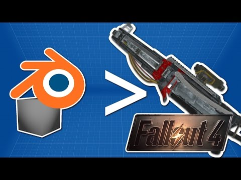 How to make custom weapons for Fallout 4 from scratch [Tutorial]
