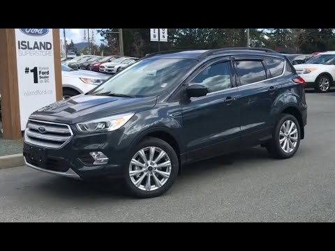 2019 Ford Escape SEl AWD Review| Island Ford