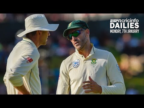 Faf du Plessis to miss Johannesburg Test | Daily Cricket News