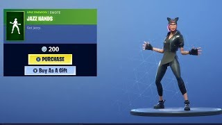 *NEW* Jazz Hands Emote and Bunny Skins Back in Fortnite!
