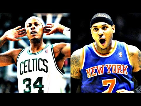Did Paul Pierce Have a Better NBA Career Than Carmelo Anthony?
