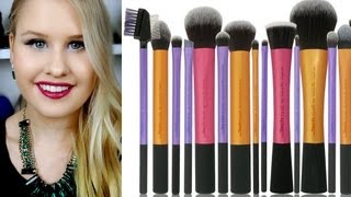 One of JordysBeautySpot's most viewed videos: REAL TECHNIQUES BRUSHES REVIEW AND CHEAPEST PLACE TO BUY FROM!