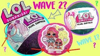 LOL Surprise Pearl Surprise WAVE 2?  Purple Ball? Surprise Mermaid Dolls?