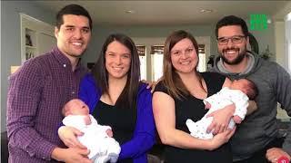 VTC14 | Hai anh em sinh đôi lên chức bố trong cùng một ngày