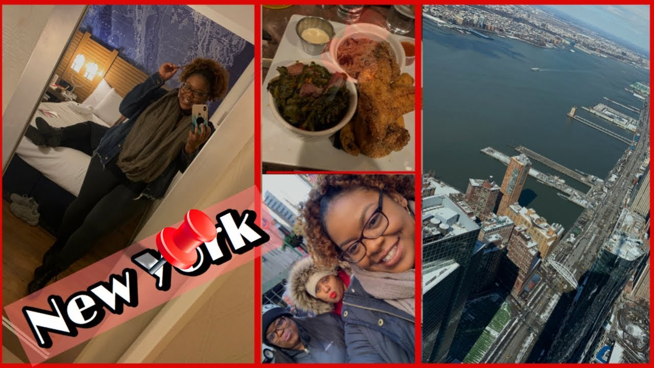 New York Travel Vlog (1): NYC Bus Tour, Black Owned BLVD Bistro