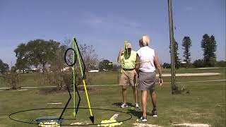 How to Pivot centered in a golf swing.