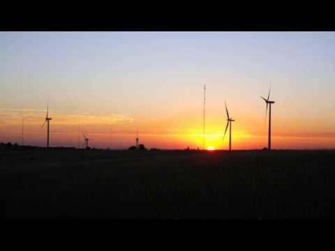 NREL Wind Turbines, Superior, Colorado Time Lapse