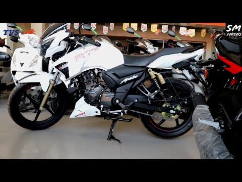 NEW 2019 TVS Apache RTR180 200 160 4v Finance in 5min Simple & Easy EMI for 24 months