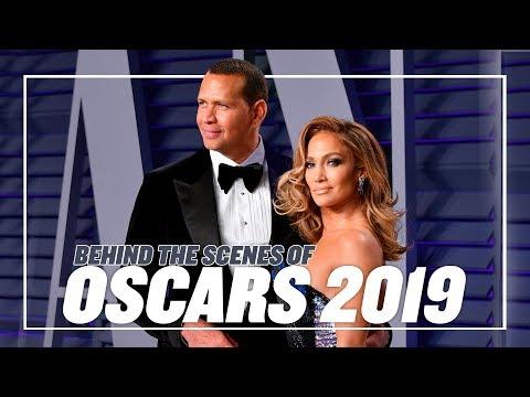 BEHIND THE SCENES: OSCARS 2019 | ALEX RODRIGUEZ & JENNIFER LOPEZ
