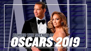 BEHIND THE SCENES: OSCARS 2019 | ALEX RODRIGUEZ & JENNIFER LOPEZ