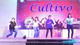 Cultivo 2K18    JNTUK Kakinada    ECE    Girls Group Dance
