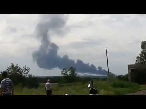 MH17 - Malaysia airlines flight MH17 shot down over Ukraine