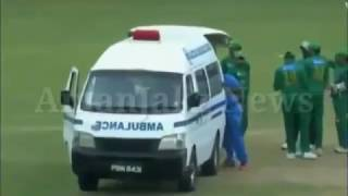 Ahmed Shehzad death during Pakistan vs West Indies