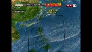 BP: Weather update as of 4:19 p.m. (February 12, 2019)