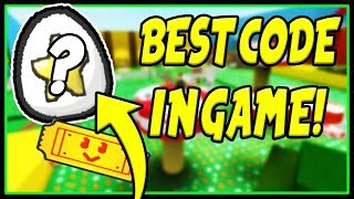 BEST CODE IN BEE SWARM SIMULATOR | Roblox