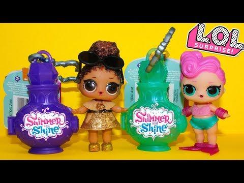 Куклы ЛОЛ Сюрпризы Шиммер и Шайн Мультики про #Куклы Игрушки Видео для детей LOL Surprise