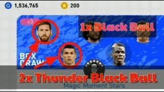 Trick Thunder Black Ball Magic Moment Stars Box Draw Pes2019