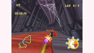 Looney Tunes: Space Race - Longplay (Dreamcast) Part 2