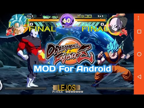 DOWNLOAD NEW DB Fighter Z Mobile Tap Battle Mod For Android