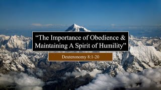 """COTR Live Stream 8-29-2021: """"The Importance of Obedience and Maintaining a Spirit of Humility"""""""