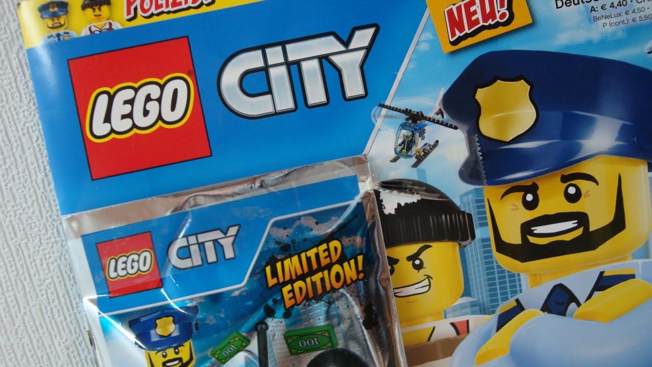lego city limited edition figuren lego city magazine nr. Black Bedroom Furniture Sets. Home Design Ideas
