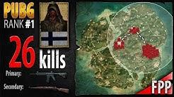 PUBG Rank 1 - FaZe Jembty 26 kills [EU] Squad FPP - PLAYERUNKNOWN'S BATTLEGROUNDS