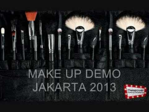 Make up Demo @ Makeover Makeup Academy, Jakarta