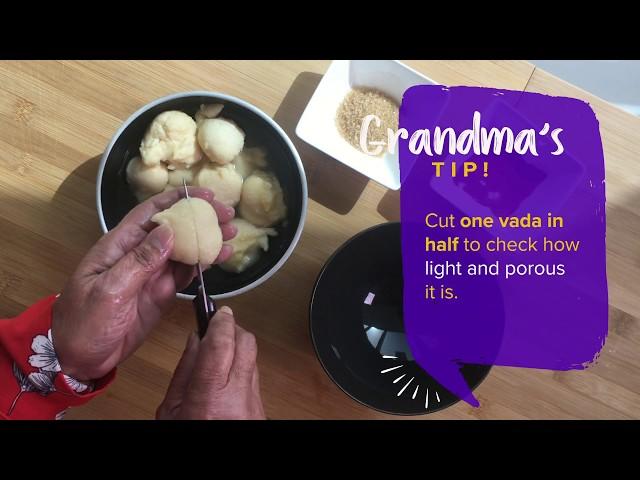 Grandma's Dahi Vada Recipe