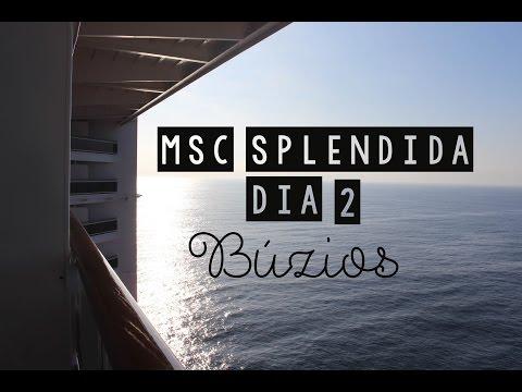 Diário de Viagem #3: Búzios - MSC Splendida | Travessia BRASIL - EUROPA (DIA 2)