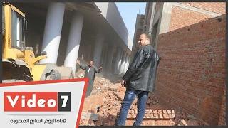 صراخ مواطن أثناء حملة لإزالة التعديات