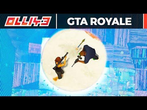 Incredible GTA 5 Battle Royale Mod!